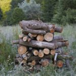 hout stapel