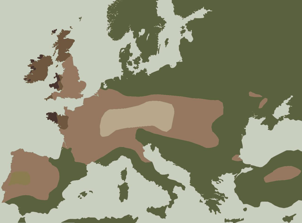 De Kelten in Europa