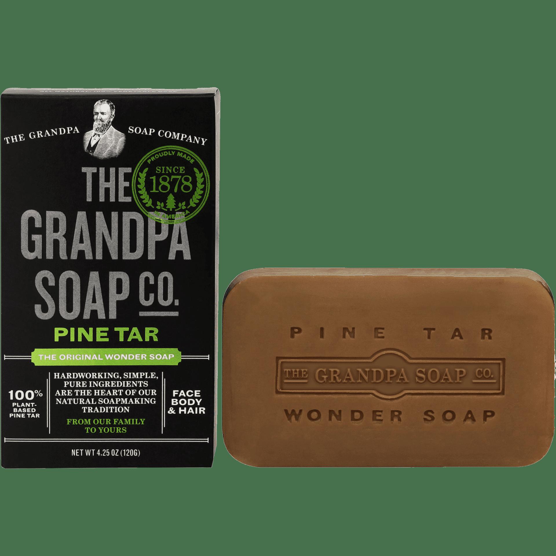 Grandpa Pine Tar Soap - No Trace
